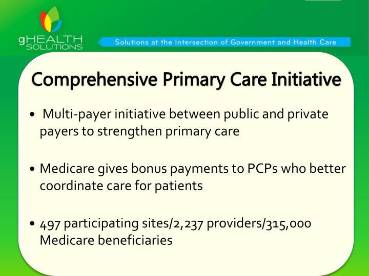 Comprehensive Primary Care Initiative