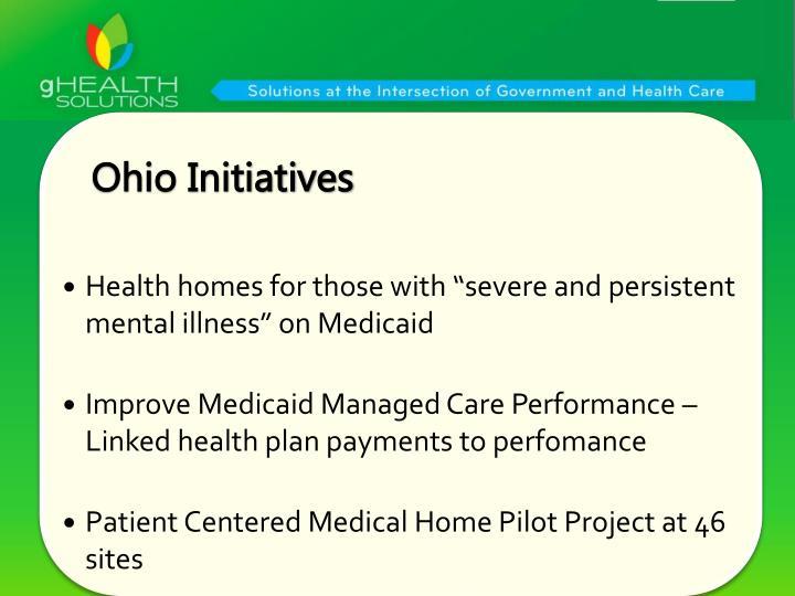 Ohio Initiatives