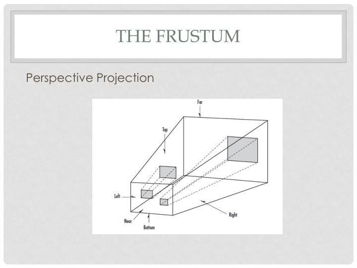 The Frustum