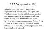2 3 3 compression 1 4