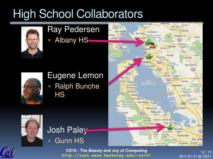 High School Collaborators