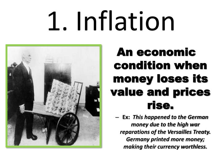 1 inflation