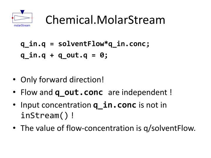 Chemical.MolarStream