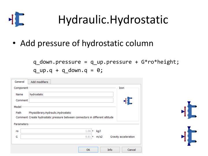 Hydraulic.Hydrostatic