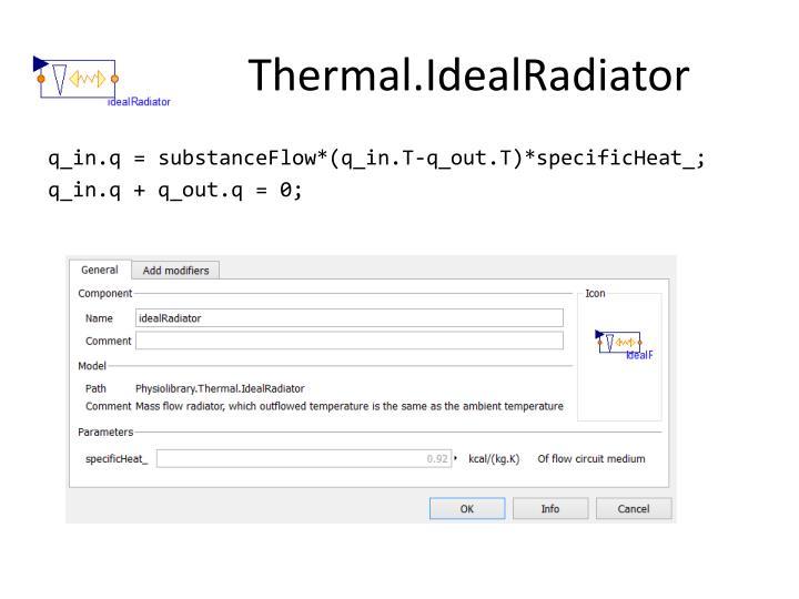 Thermal.IdealRadiator