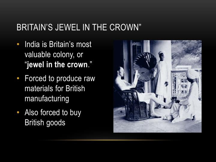 """Britain's Jewel in the Crown"""""""