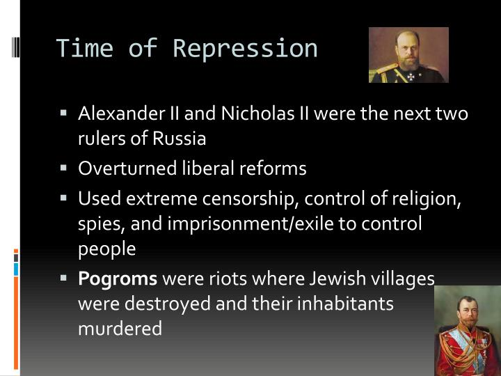 Time of Repression