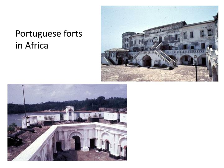 Portuguese forts in Africa