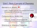 unit 1 basic concepts of chemistry2