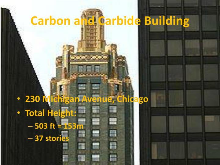 Carbon and Carbide Building