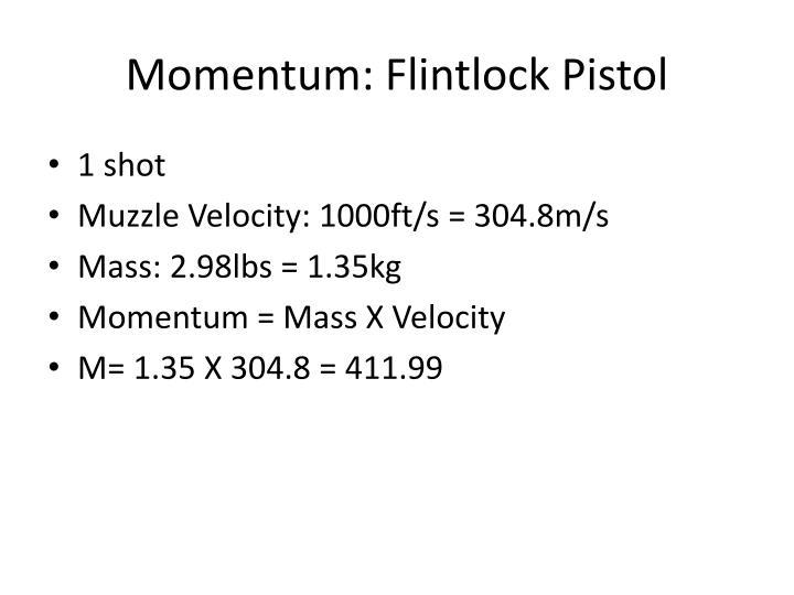 Momentum: Flintlock Pistol