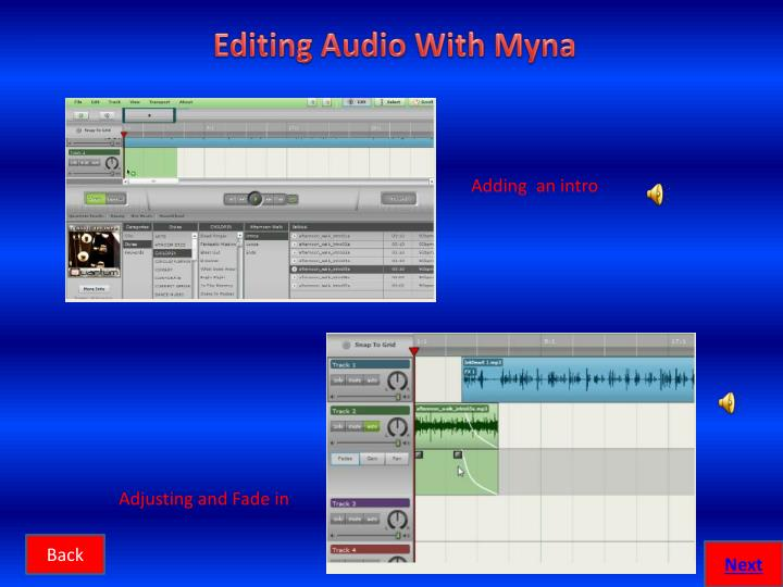 Editing Audio With Myna
