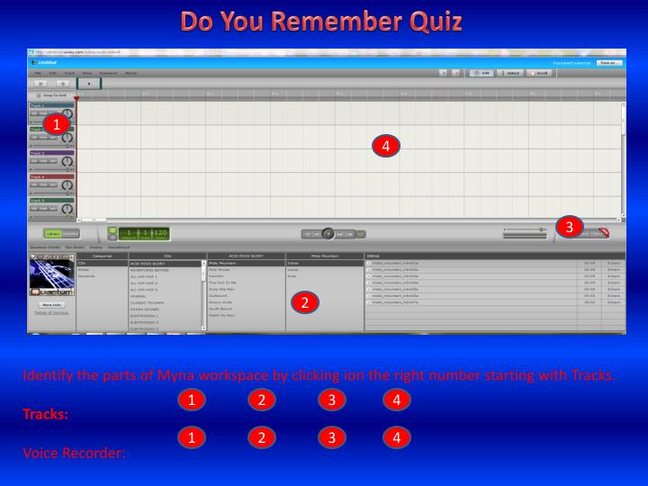 Do You Remember Quiz