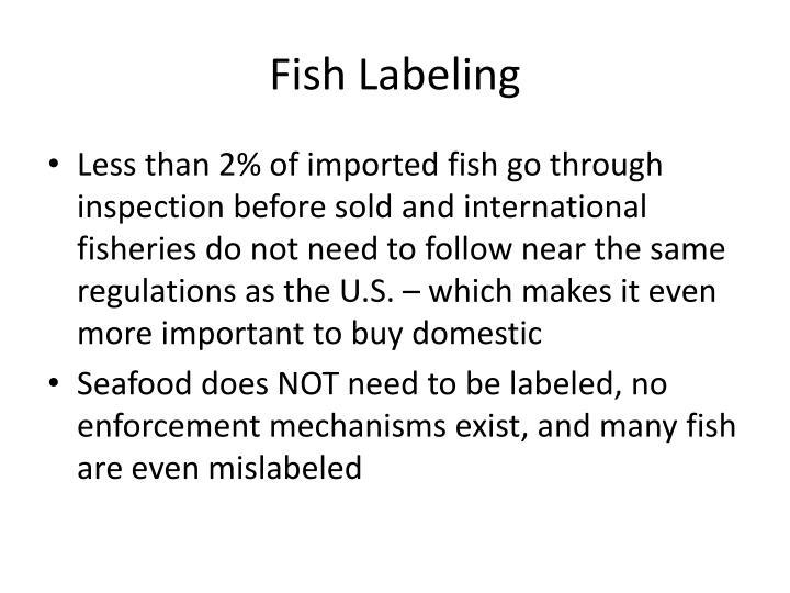 Fish Labeling