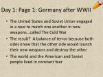 day 1 page 1 germany after wwii6
