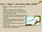 day 1 page 1 germany after wwii9