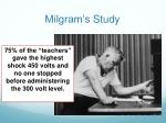 milgram s study2