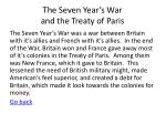 the seven year s war and the treaty of paris