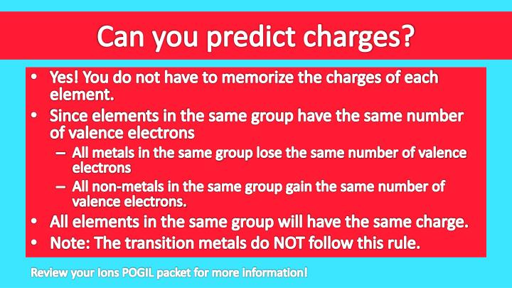 Can you predict charges?
