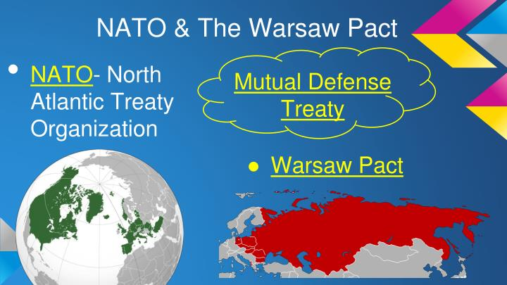 NATO & The Warsaw Pact
