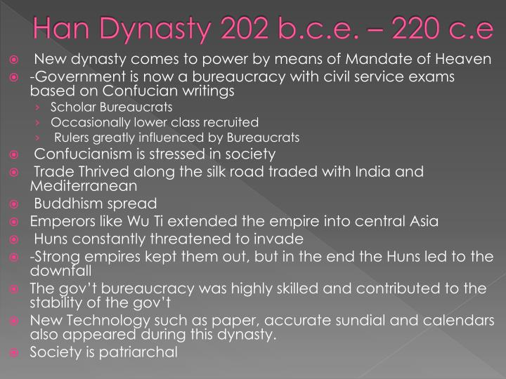 Han Dynasty 202