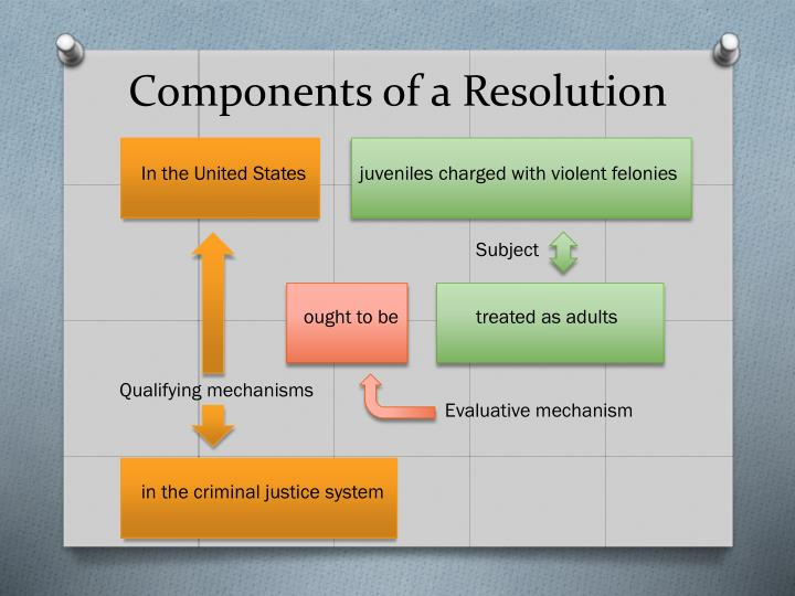 Components of a Resolution