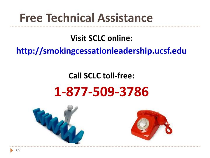 Free Technical Assistance
