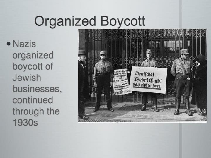Organized Boycott