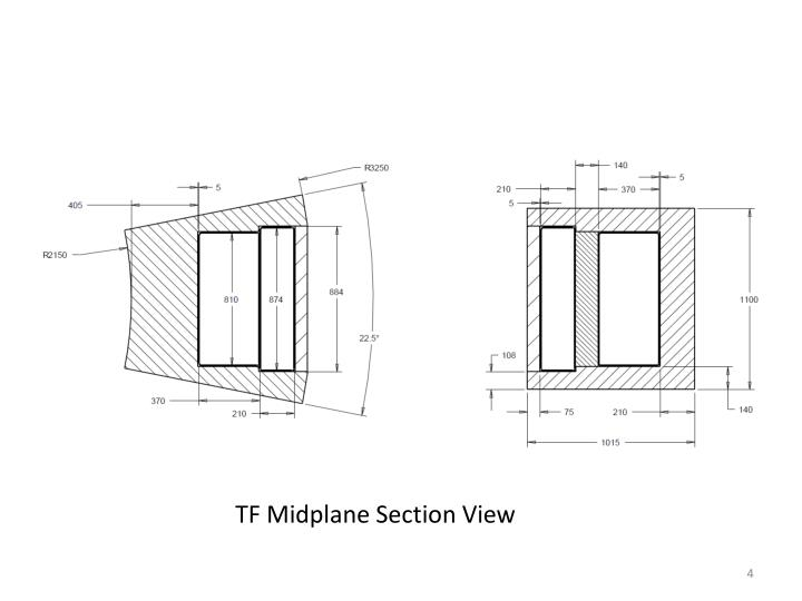 TF Midplane Section View