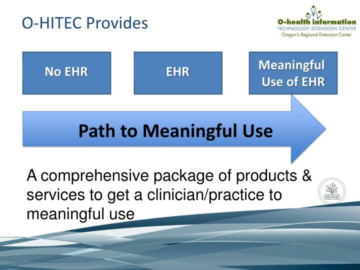 O-HITEC Provides