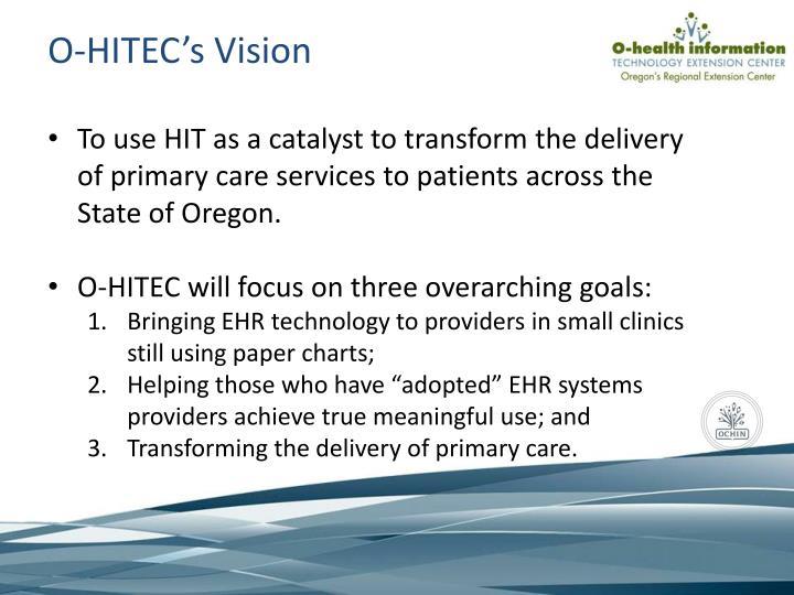 O-HITEC's Vision