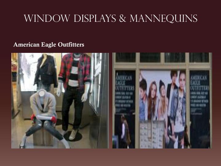 Window Displays & MANNEQUINS