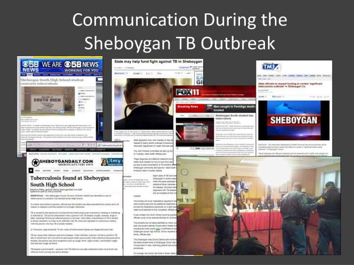 communication during the sheboygan tb outbreak n.