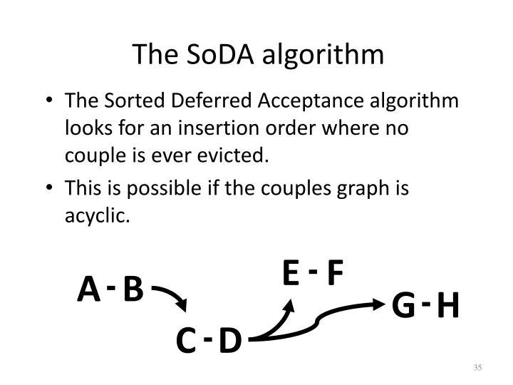 The SoDA algorithm