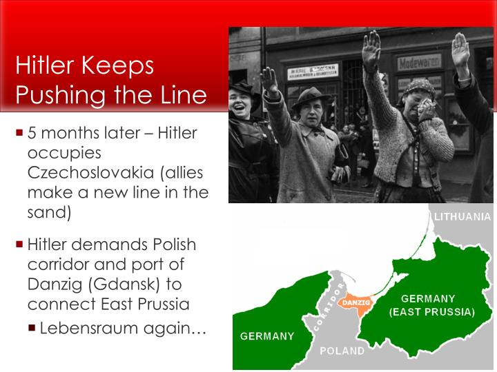 Hitler Keeps Pushing the Line