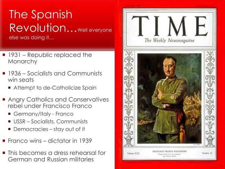 The Spanish Revolution…