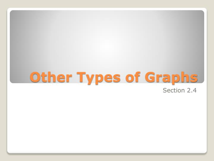 other types of graphs n.