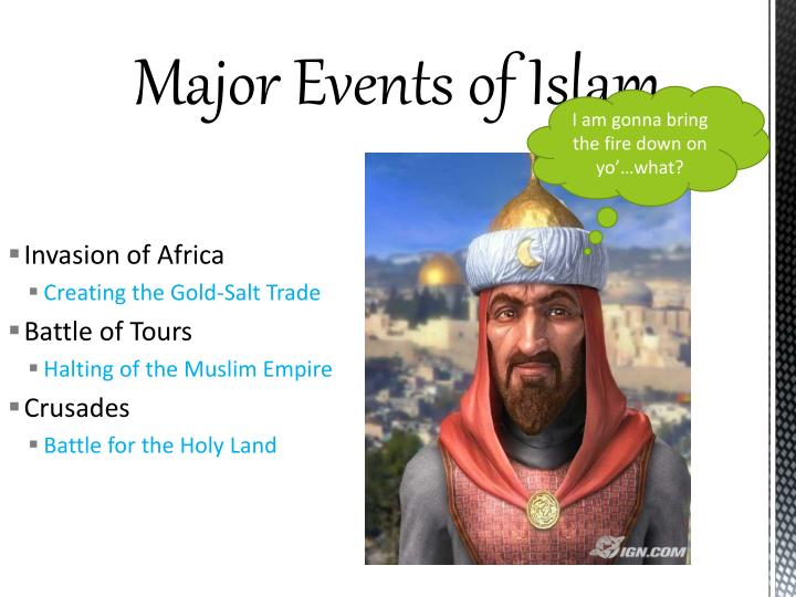 Major Events of Islam