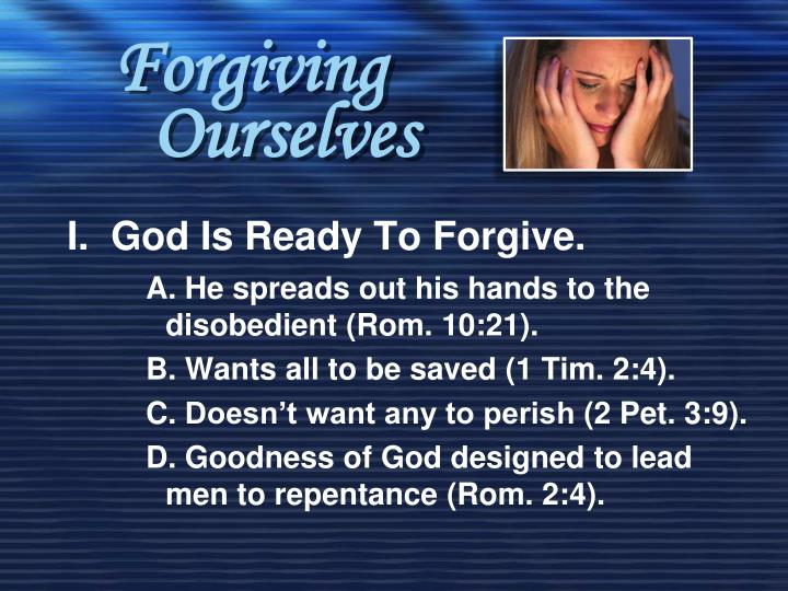 forgiving ourselves n.