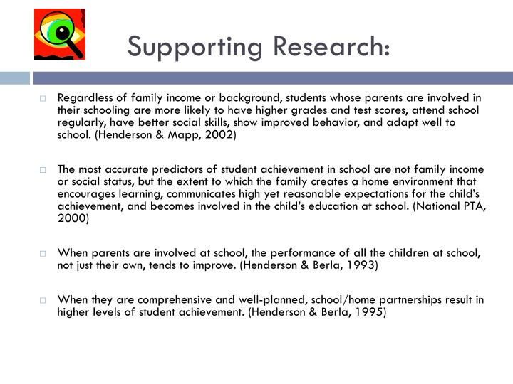 Supporting Research: