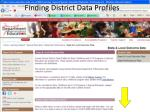 finding district data profiles2