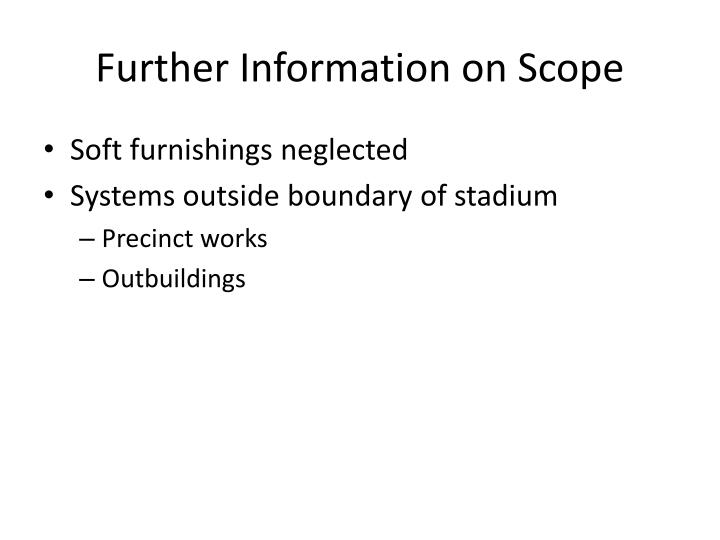 Further Information on Scope
