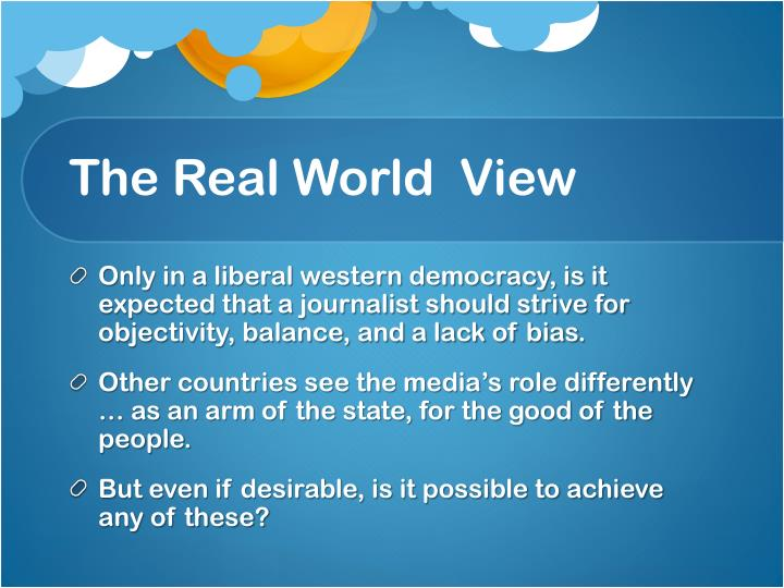 The real world view