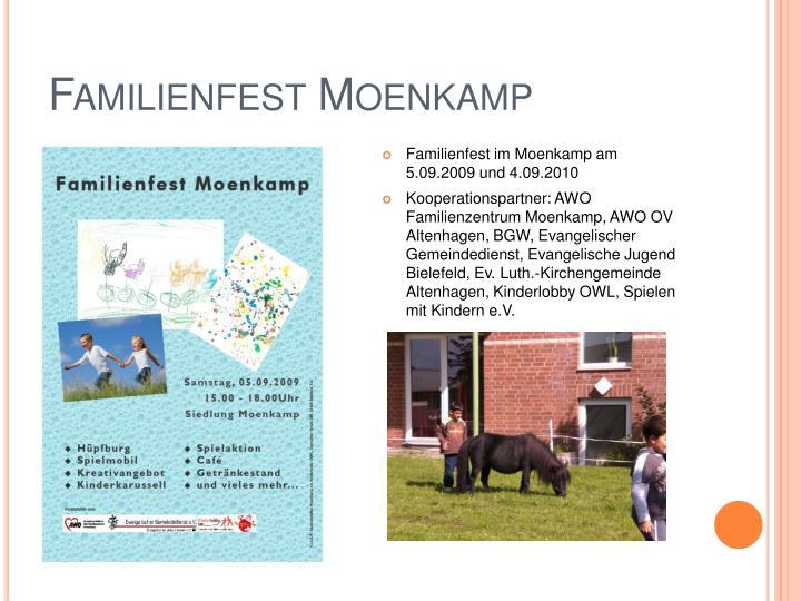 Familienfest Moenkamp