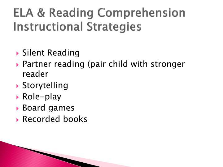 ELA & Reading Comprehension