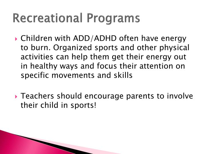 Recreational Programs