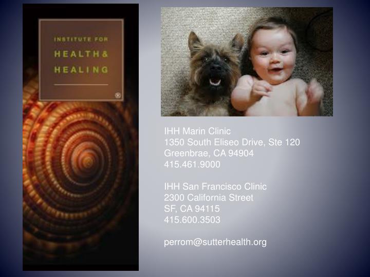 IHH Marin Clinic