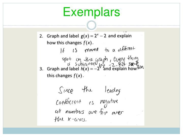 Exemplars1