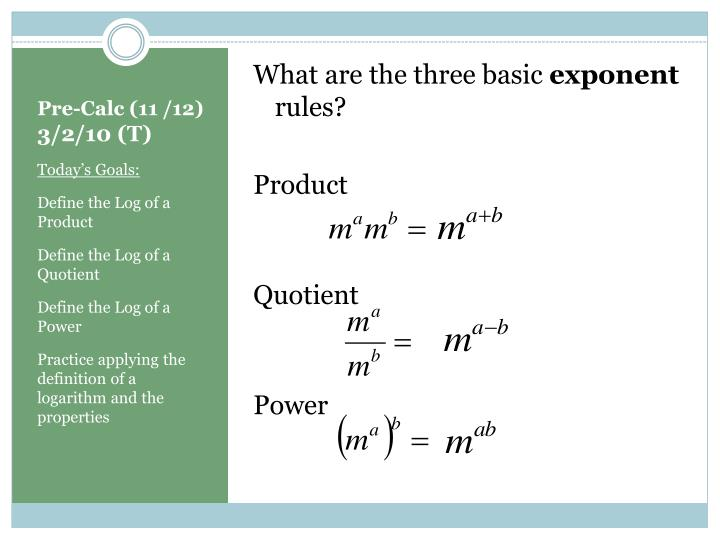 What are the three basic