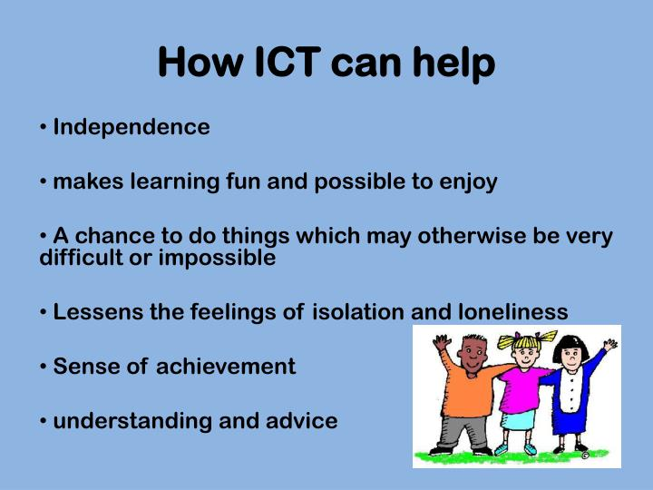 How ICT can help